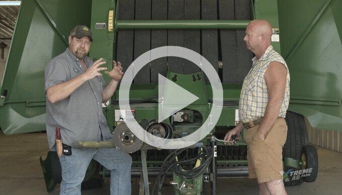 Round Baler Pro-Tips with Van Wall Equipment