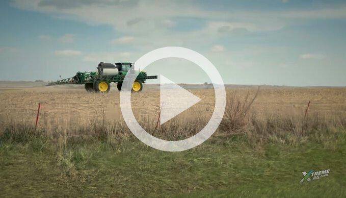 Pre-Plant Spray Applications Into No-Till Corn
