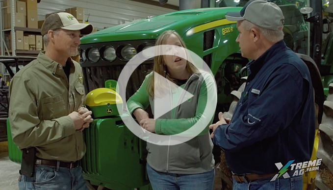 The latest in John Deere Guidance Systems with TriGreen Equipment