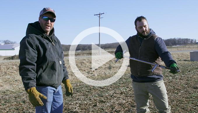 Establishing A Saturation Base With Spring Soil Sampling