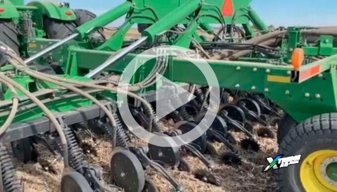 No-Till Wheat Planter Set-up